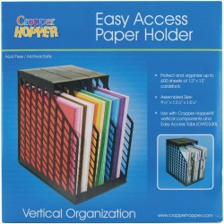 Cropper Hopper Easy Access Paper Holder Vertical Organanization