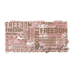 Freedom Background Special Stamp