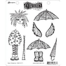 Ruby Rainbow Dyan Reaveley's Dylusions Cling Stamp