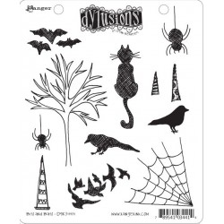 Bits & Bats Dyan Reaveley's Dylusions Cling Stamp