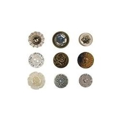 Fanciful Buttons Tim Holtz Idea-Ology