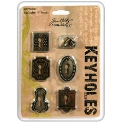 Keyholes With Long Fasteners Tim Holtz Idea-Ology