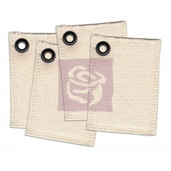Canvas ATC Cards Grommets Prima Marketing
