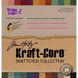 """Shattered Collection Cardstock ColoreCore Core'dinations 12""""x12"""""""