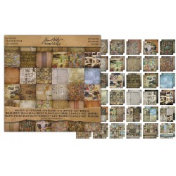 "Destinations Paper Stash 12""x12"" Idea Ology by Tim Holtz"