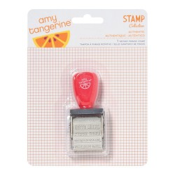 12 Phrases Amy Tangerine Yes Please Roller Stamp