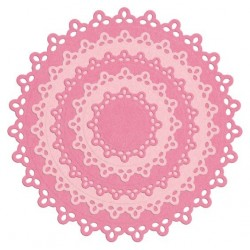 Nesting Doily Circles Lifestyle Crafts