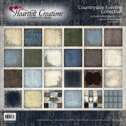 """Countryside Evening Collection 12"""" x 12"""" Heartfelt Creations"""