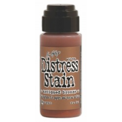 Antiqued Bronze Metallic Distress Stain