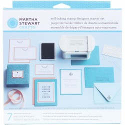 Self Inking Stamp Designer Starter Set Martha Stewart