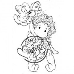 Mini Sitting Tilda With Butterfly - MINI-OUT 13