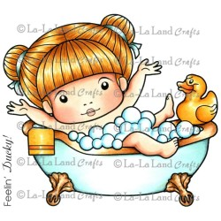Bath Time Marci La-La Land Cling Mount