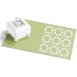 Crochet Flower Pattern Punch All Over The Page Martha Stewart