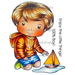 Luka with Sailboat La-La Land Cling Mount