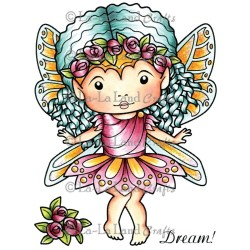 Rose Faerie Marci La-La Land Cling Mount