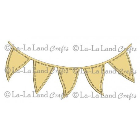 Flag Banner Die La-La Land Crafts