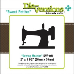 Sewing Machine Sweet Petites Die Die-Versions