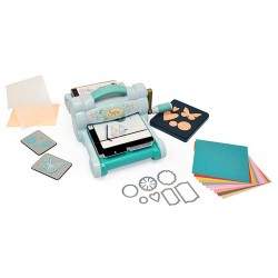 Big Shot Starter Kit Powder Blue & Teal Sizzix