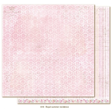 "Royal Summer Recidence 12""x12"" Sofiero Collection Maja Design"