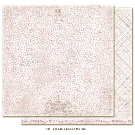 "A Romantic Picnic in the Park 12""x12"" Sofiero Collection Maja Design"
