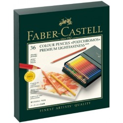 Polychromos Gift Box 36 Colour Pencils Faber Castell