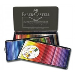 Polychromos set 120 Colour Pencils Faber Castell