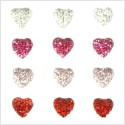 Hearts Sparklets Self-Adhesive Rhinestone Clusters Kaisercraft