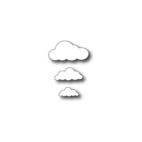 Puffy Clouds Memory Box Die