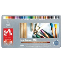 76 Couleurs Luminance 6901 Caran D'Ache