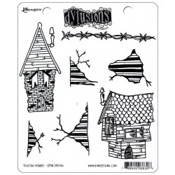 This Old House Dyan Reaveley's Dylusions Cling Stamp