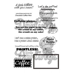 Coffee Sentiments Little Darlings