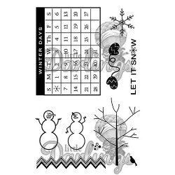 Frigid Fun Stamp Set Little Darlings