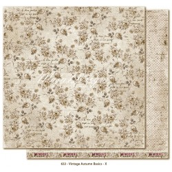 "no.X 12""x12"" Vintage Autumn Basics Maja Design"