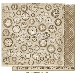 "no.XVI 12""x12"" Vintage Autumn Basics Maja Design"