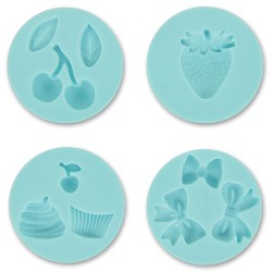 Sweet Shop Martha Stewart Crafter's Clay Silicone Molds