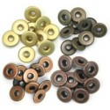 Warm Metal Eyelets Wide