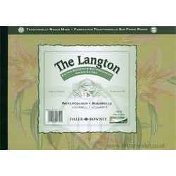 35,5 x 25,4 cm Extra Smooth Watercolour Paper 300 g/m2 The Langton