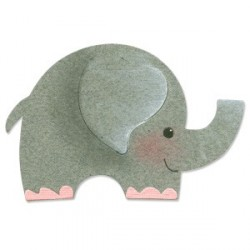 Elephant 2 Sizzix Originals Die