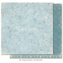 "9th of December 12""x12"" Vintage Frost Basics Maja Designn"
