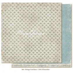 "20th of December 12""x12"" Vintage Frost Basics Maja Designn"