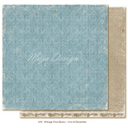 "21st of December 12""x12"" Vintage Frost Basics Maja Design"