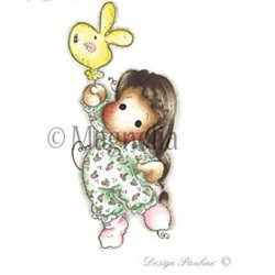 Tilda With Bunny Ballon - LF14
