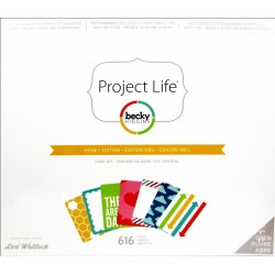Honey Edition Project Life Core Kit American Crafts
