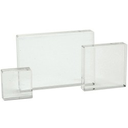 Acrylic Stamp Block Set