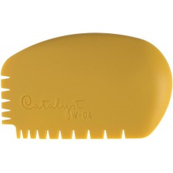 Yellow W-04 Catalyst Silicone Wedge Tool