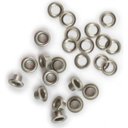 "Nickel Eyelets & Washers 3/16"" We're Memory Keepers"