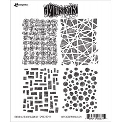 Graphic Background Dyan Reaveley's Dylusions Cling Stamp