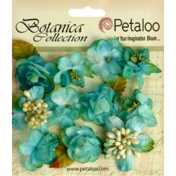 Teal Minis Botanica Collection Petaloo