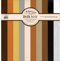 "Natural Necessities Double Dot Collection Pack 12""x12"" Bo Bunny"