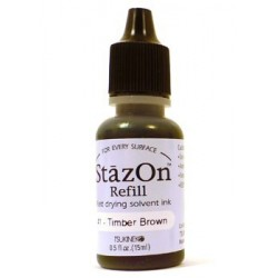 Timber Brown Ink Refill Staz On
